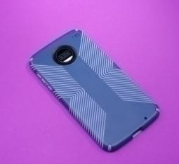 Чехол Motorola Moto Z2 Force Speck Presidio Grip синий