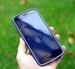 Чехол Motorola Moto Z2 Force Speck Presidio Grip синий - фото 2