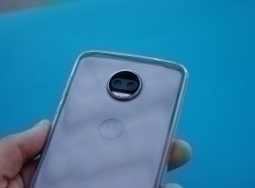 Чехол Motorola Moto Z2 Force прозрачный - изображение 2