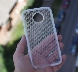 Чехол Motorola Moto Z2 Play Tech21 прозрачный - изображение 5