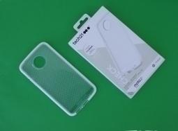 Чехол Motorola Moto Z2 Play Tech21 прозрачный - изображение 3