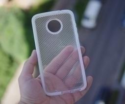 Чехол Motorola Moto Z2 Play Tech21 прозрачный - изображение 2