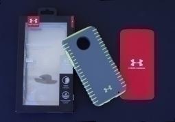 Чехол Motorola Moto Z2 Play Under Armour серый