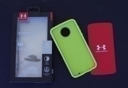Чехол Motorola Moto Z2 Play Under Armour серый - изображение 2