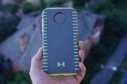 Чехол Motorola Moto Z2 Play Under Armour серый - изображение 3