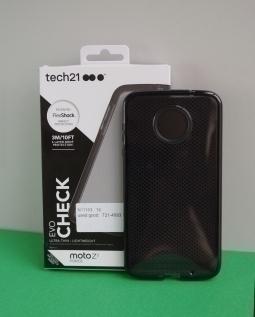 Чехол Motorola Moto Z2 Force Tech21 черный - изображение 5