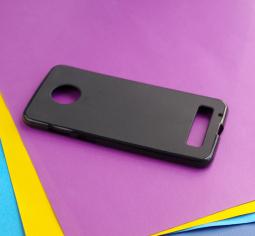 Чехол Motorola Moto Z3 чёрный - изображение 3