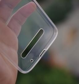Чехол Motorola Moto Z3 Play прозрачный - изображение 3