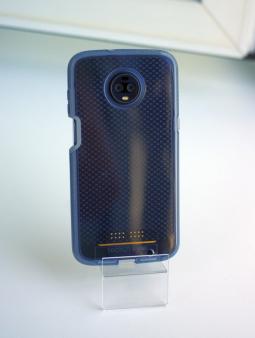 Чехол Motorola Moto Z3 Tech21 EvoCheck серый