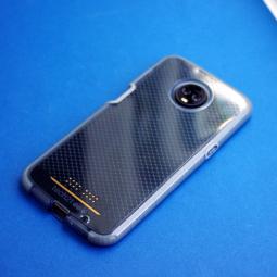 Чехол Motorola Moto Z3 Tech21 EvoCheck серый - фото 3