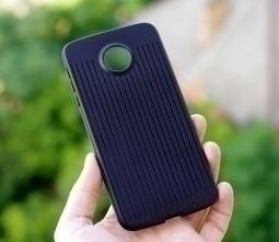 Чехол Motorola Moto Z Droid Verizon чёрный - фото 2