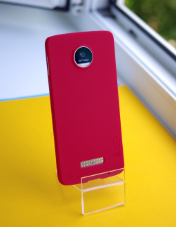 Чехол Motorola Moto Z Droid Nillkin красный