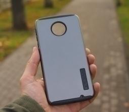 Чехол Motorola Moto Z Force Incipio серый - изображение 4