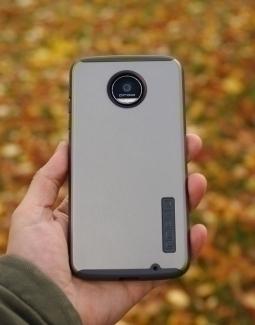 Чехол Motorola Moto Z Force Incipio серый - изображение 5