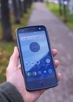 Чехол Motorola Moto Z Force Incipio серый - изображение 6