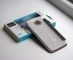 Чехол флип Motorola Moto Z Play Muvit - фото 3