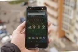 Чехол Motorola Moto Z Speck синий - изображение 3