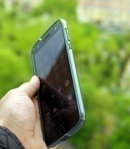 Чехол Motorola Moto Z Speck синий - изображение 4