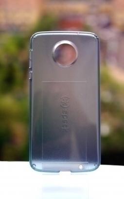 Чехол Motorola Moto Z Speck синий