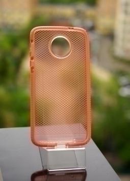 Чехол Motorola Moto Z Tech21 оранж - изображение 6
