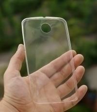 Чехол Motorola Google Nexus 6 прозрачный - изображение 2