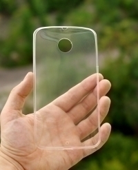 Чехол Motorola Google Nexus 6 прозрачный