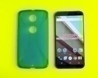 Чехол Motorola Goole Nexus 6 силикон синий - изображение 4