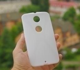 Чехол Motorola Google Nexus 6 белый - изображение 2