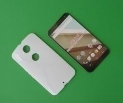 Чехол Motorola Google Nexus 6 белый - изображение 4