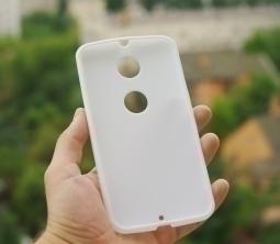 Чехол Motorola Google Nexus 6 белый - изображение 5