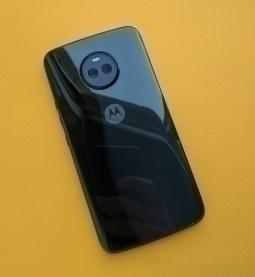 Корпус в сборе Motorola Moto X4 чёрный (А сток)