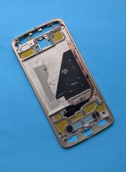 Корпус Motorola Moto Z Droid золотой А-сток (без стекла камеры) - фото 2