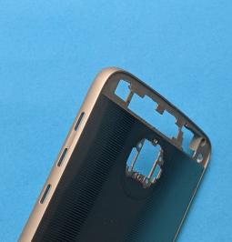 Корпус Motorola Moto Z Droid золотой А-сток (без стекла камеры) - фото 3