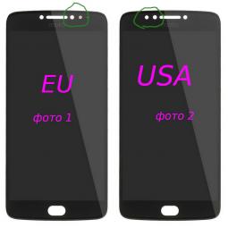 Дисплей (экран) Motorola Moto E4 Plus черный - изображение 4