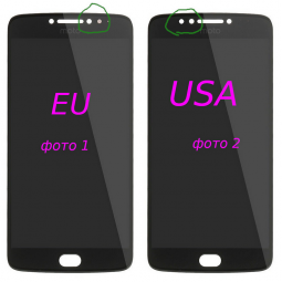 Сенсор Motorola Moto E4 Plus чёрный Европа