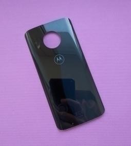 Крышка Motorola Moto G6 (А-сток) чёрная