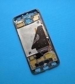 Корпус Motorola Moto Z Droid чёрный - фото 2