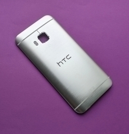 Крышка HTC One M9 серебро (А-сток)