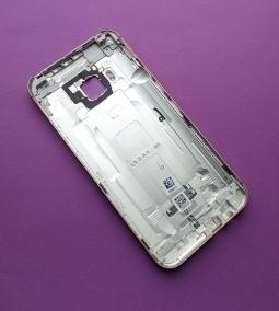 Крышка HTC One M9 серебро (А-сток) - фото 2