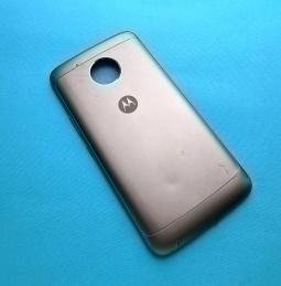Крышка Motorola Moto E4 Plus США чёрная (B сток)