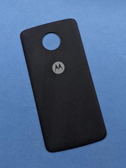 Moto Mod крышка тканевая Motorola Moto Z2 Force чёрная (А-сток)