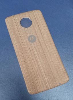 Крышка мод Motorola Moto Z2 Force дерево светлая (B-сток)