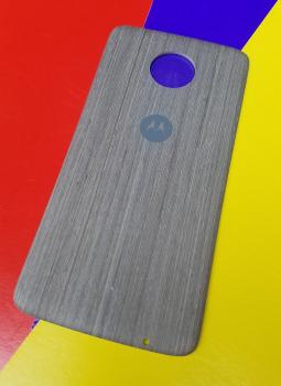 Крышка мод Motorola Moto Z2 Play дерево светлая (B-сток)