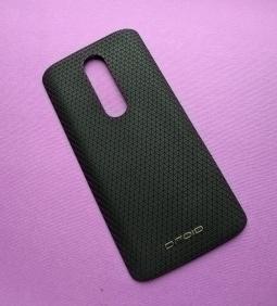 Крышка Motorola Droid Turbo 2 чёрная (А-сток)