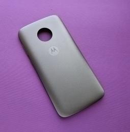 Крышка Motorola Moto E5 Play серая (B-сток)