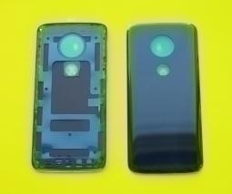 Крышка Motorola Moto E5 Plus чёрная