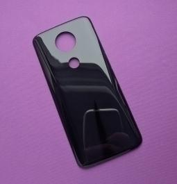 Крышка Motorola Moto E5 Plus чёрная (A сток) Америка