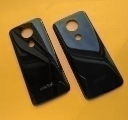 Крышка Motorola Moto E5 Plus чёрная (B сток) Америка