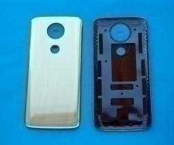 Крышка Motorola Moto E5 Plus золотая