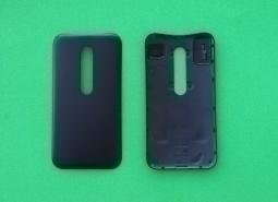 Крышка Motorola Moto G3 черная - изображение 2